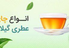 چای های عطری استان گیلان