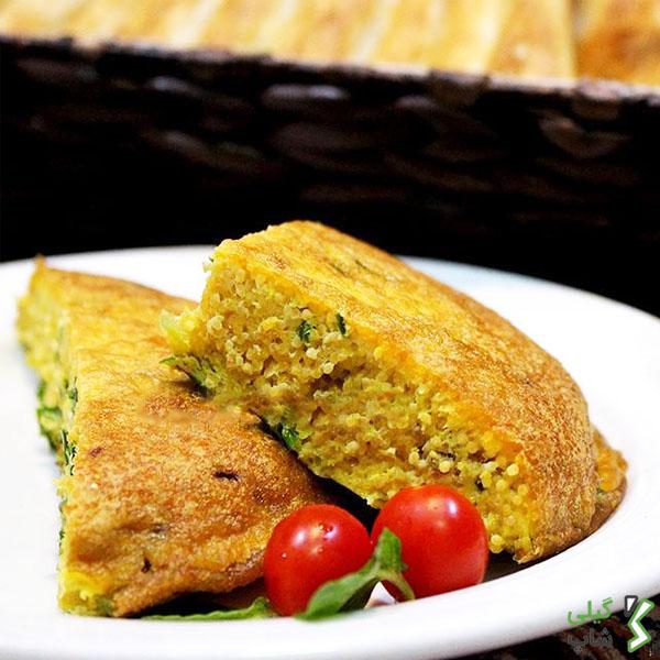 کوکوی اشپل گیلانی | خوراکی خوشمزه