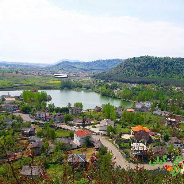 تالاب استیل و روستای دربند از زیبا ترین مناطق دیدنی استان گیلان