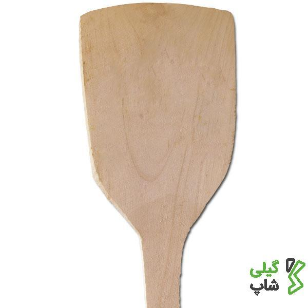 کفگیر چوبی دسته بلند | مخصوص کار در آشپزخانه