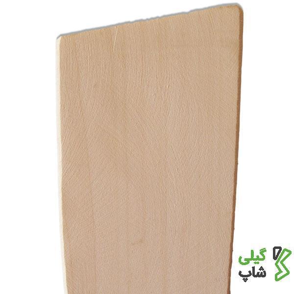 کفگیر چوبی مورب مخصوص آشپزخانه