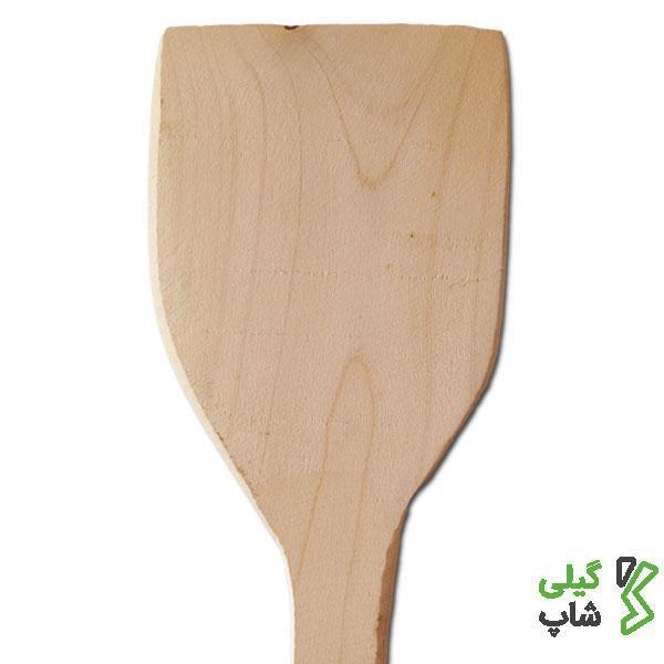 کفگیر چوبی دسته کوچک   مخصوص کار در آشپزخانه