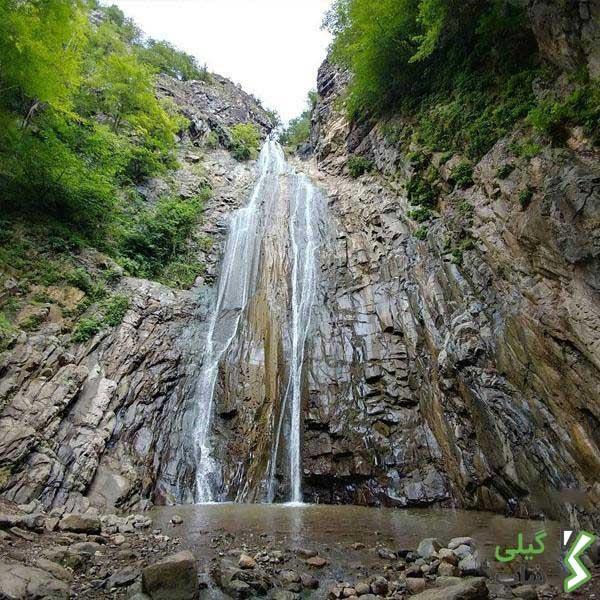 آبشار میلاش | زیبا ترین و دیدنی ترین آبشار در استان گیلان