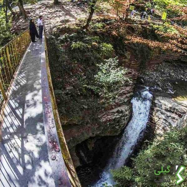 آبشار ویسادار | حیرت انگیزین آبشار استان گیلان + تصاویر