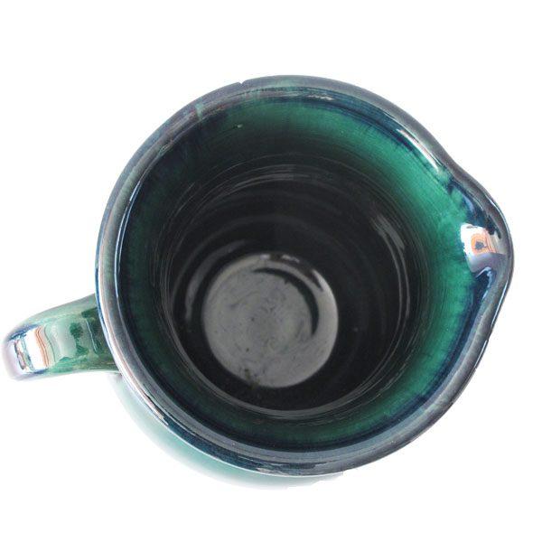 پارچ آب سفالی ساده و لعاب دار