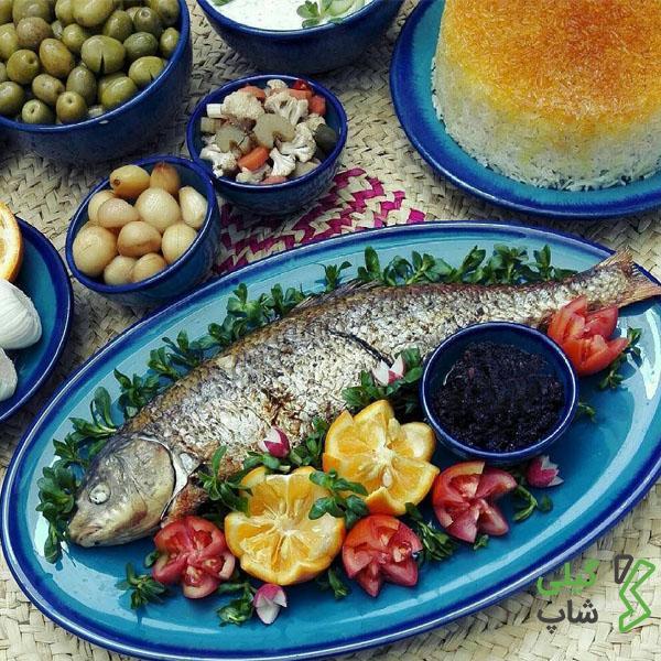 طرز تهیه ماهی شکم پر گیلانی