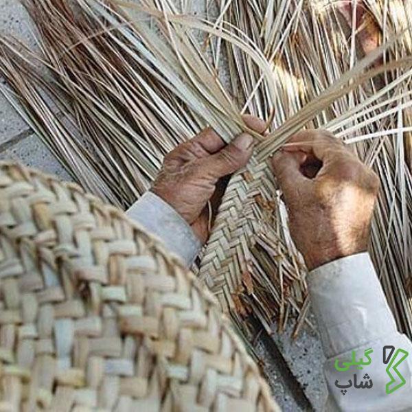 صنعت حصیر بافی | از صنایع دستی معروف استان گیلان