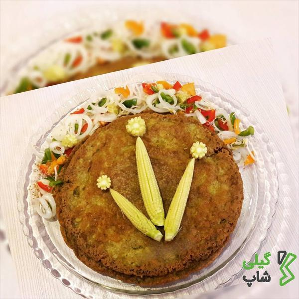 کوکوی خوشمزه اشپل