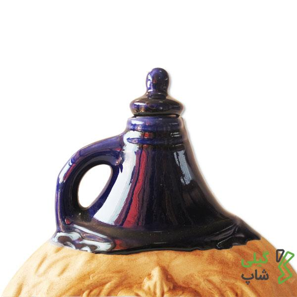 بطری آب سفالی (مدل: گرد)