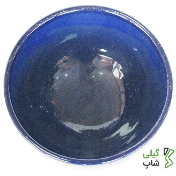 کاسه و پیاله سفالی ساده (رنگ: آبی)
