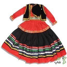 لباس محلی گیلان قرمز