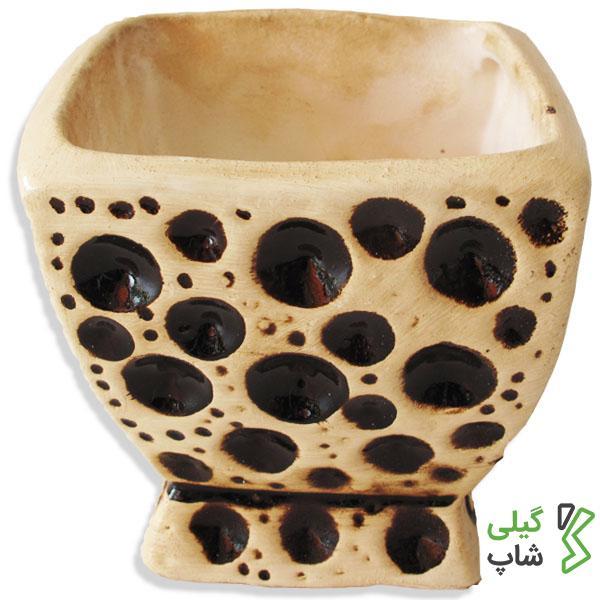 گلدان سرامیکی (مدل: توپی کوچک)