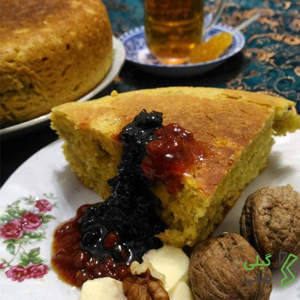 طرز تهیه نان کولبا