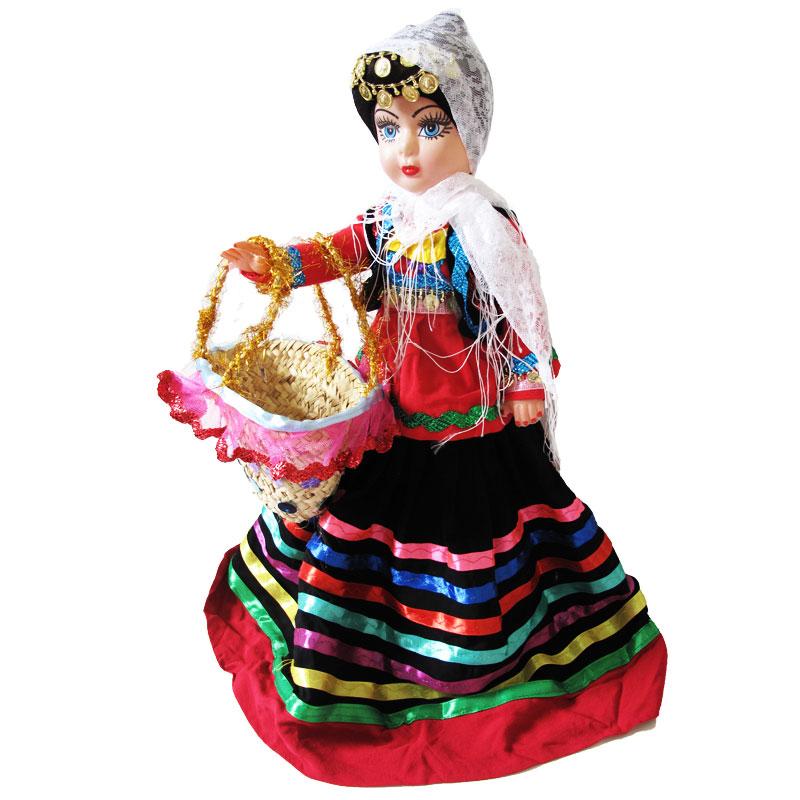عروسک محلی و دخترانه گیلان | رنگ: صورتی