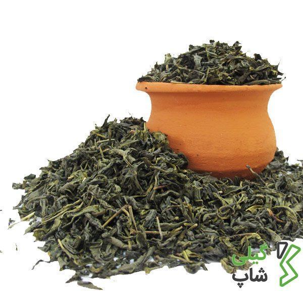 چای سبز قلم درجه یک و دستچین استان گیلان