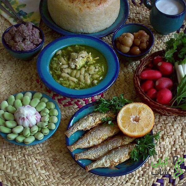 طرز تهیه کولی غورابیج استان گیلان