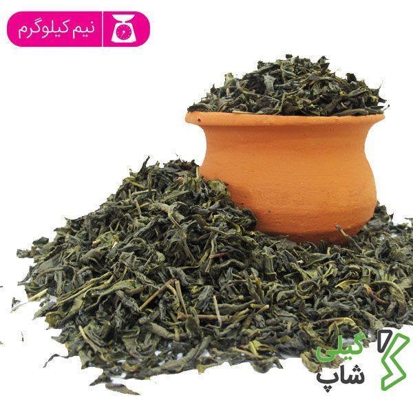 خرید چای سبز قلم با کیفیت لاهیجان