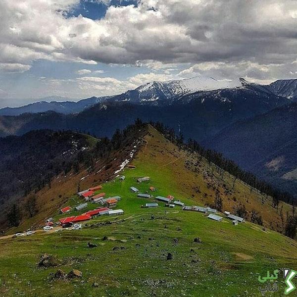 شهرستان زیبای ماسال در گیلان