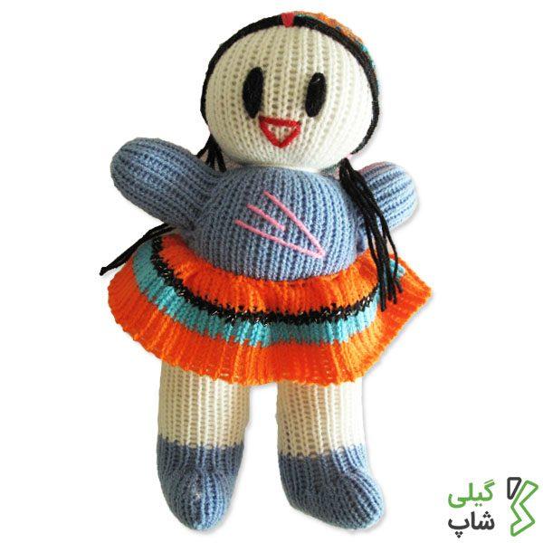 عروسک بافتنی گیلان (طرح یک)