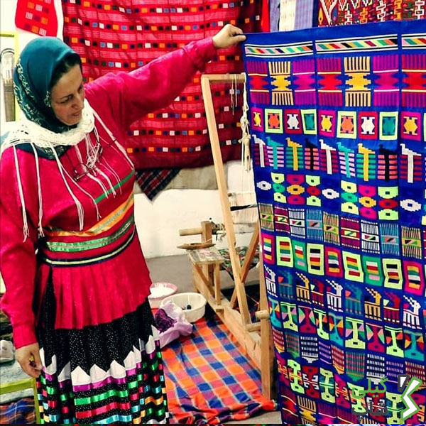 صنعت چادرشب بافی در استان گیلان