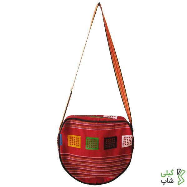 خرید کیف دوشی طرح چادر شب
