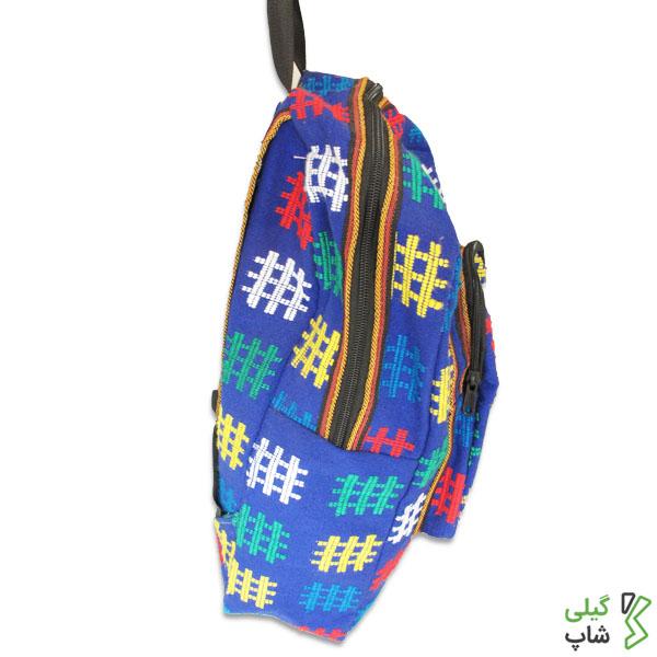کیف دوشی سنتی طرح چادر شب