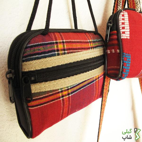 خرید کیف پول سنتی قرمز