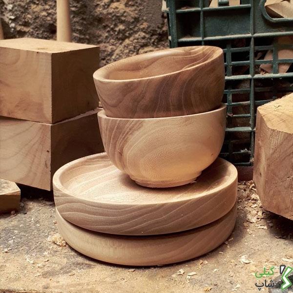 کاسه های چوبی