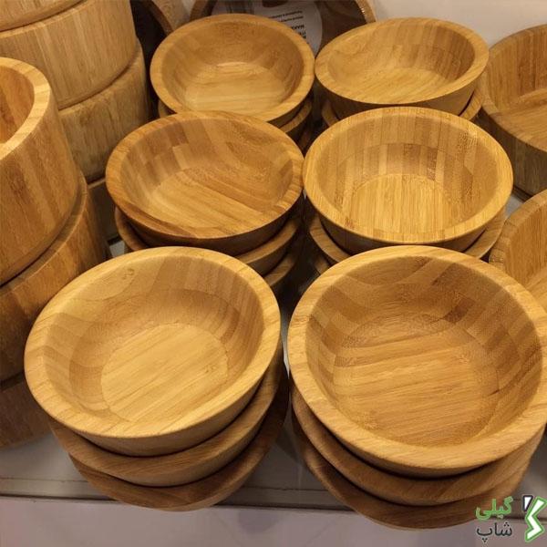 پیاله های چوبی