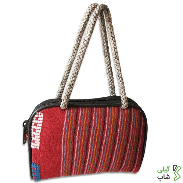 کیف پول سنتی قرمز