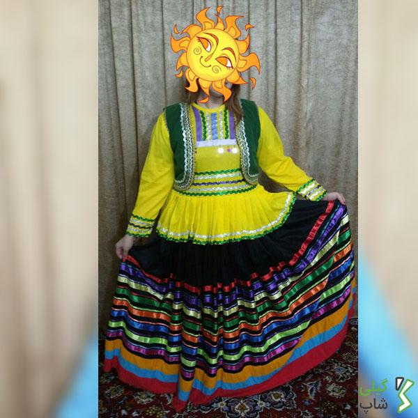 لباس محلی بچه گانه گیلان