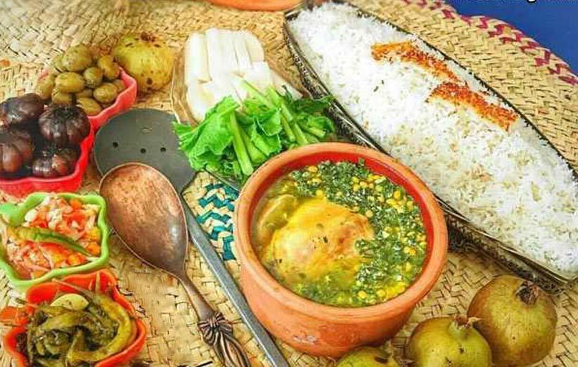 غذاهای محلی استان گیلان