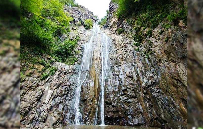 آبشار میلاش | زیبا ترین آبشار در استان گیلان