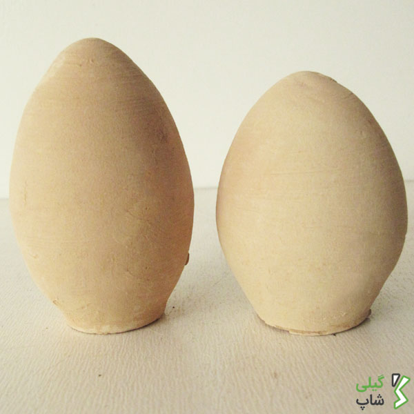 تخم مرغ سفالی خام