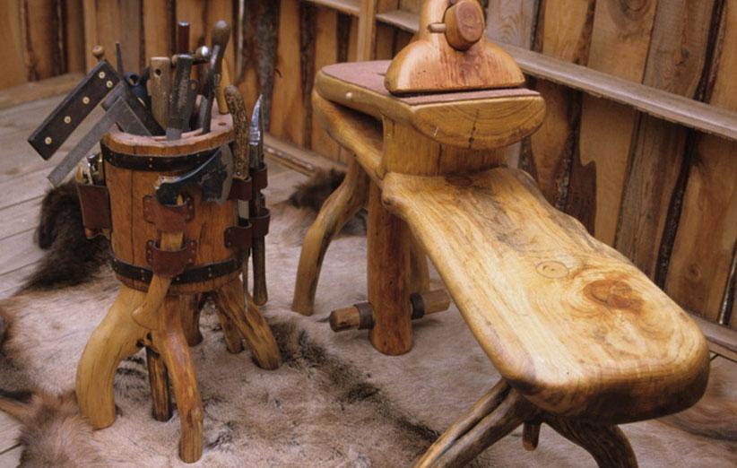 فروش صنایع دستی چوبی
