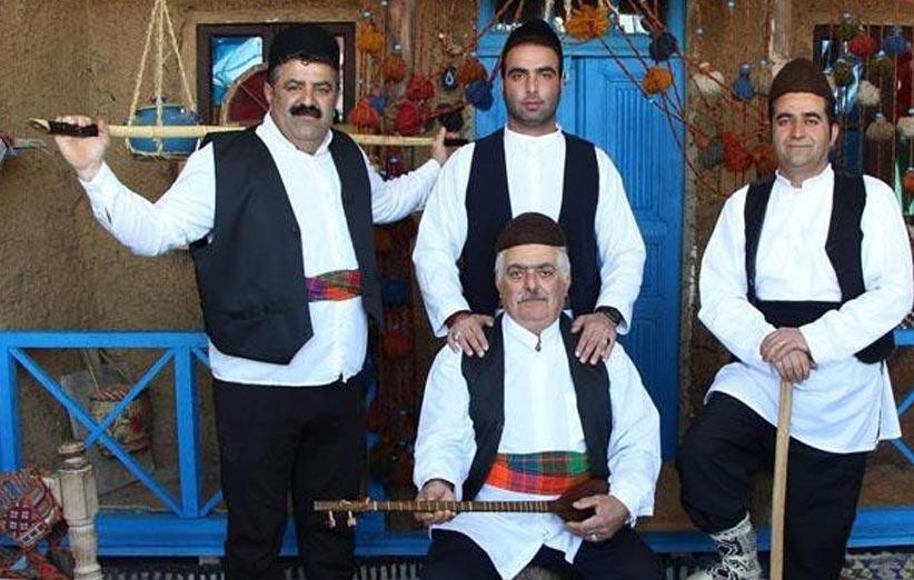 لباس محلی گیلان مردانه