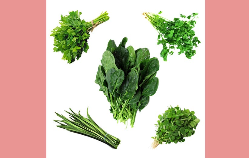 خرید سبزی محلی شمال