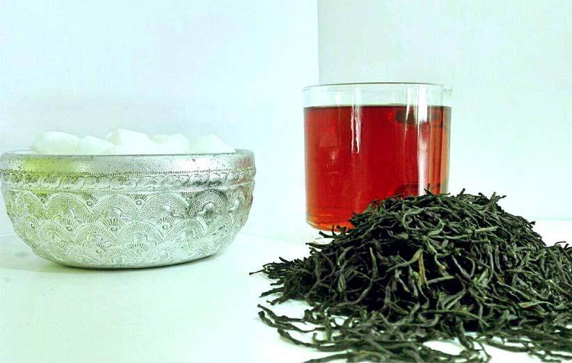 چای قلمی ایرانی