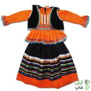 لباس محلی نارنجی گیلان