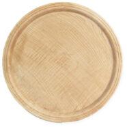 تخته گوشت چوبی گرد لبه دار