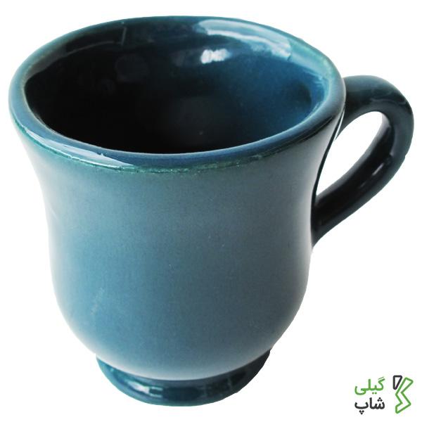 لیوان موج دار ساده سفالی (2 رنگ)