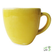 لیوان مربعی ساده سفالی (3 رنگ)