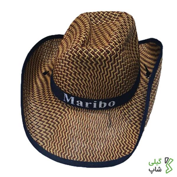 کلاه حصیری مدل کابوی