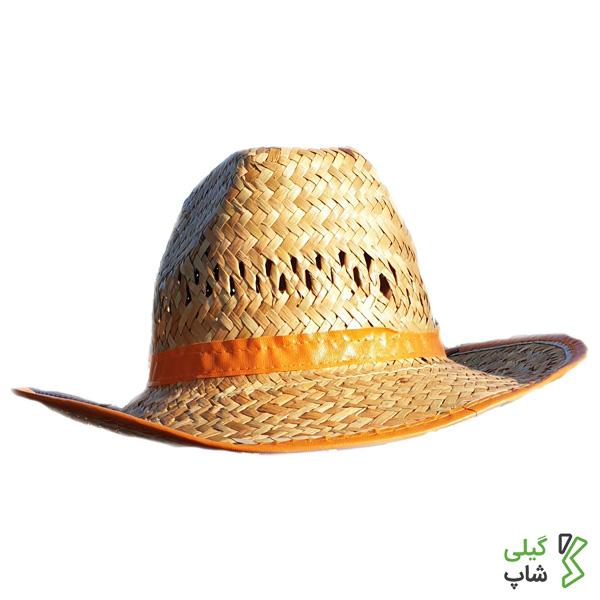 کلاه حصیری مدل لبه دار