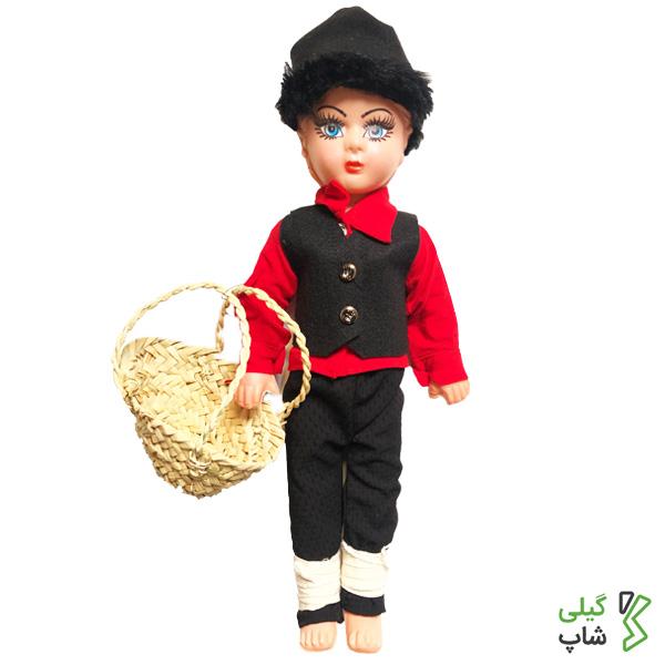 عروسک محلی مرد گیلان | قرمز