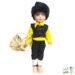 عروسک محلی مرد گیلان | زرد