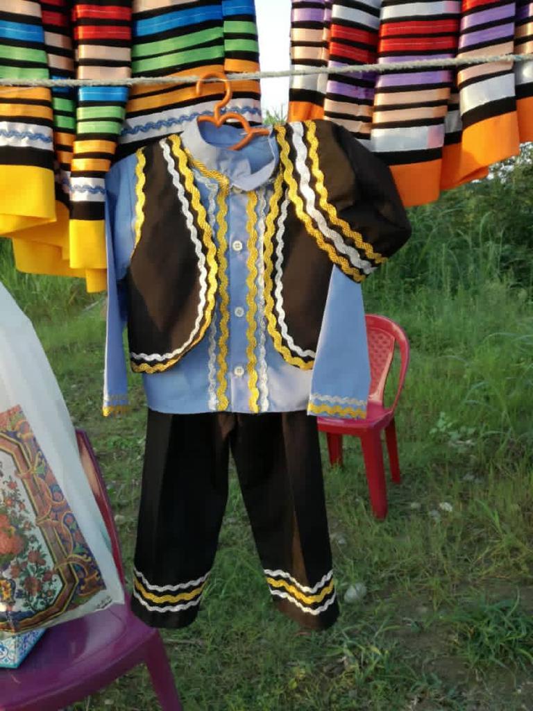 لباس پسرانه محلی گیلان