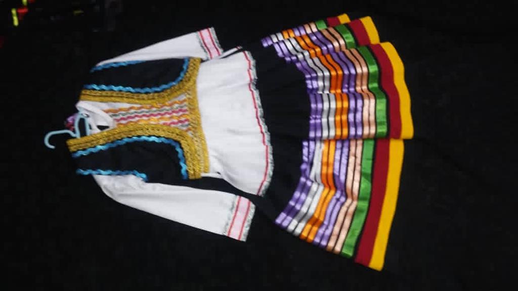 لباس شمالی دخترانه سفید