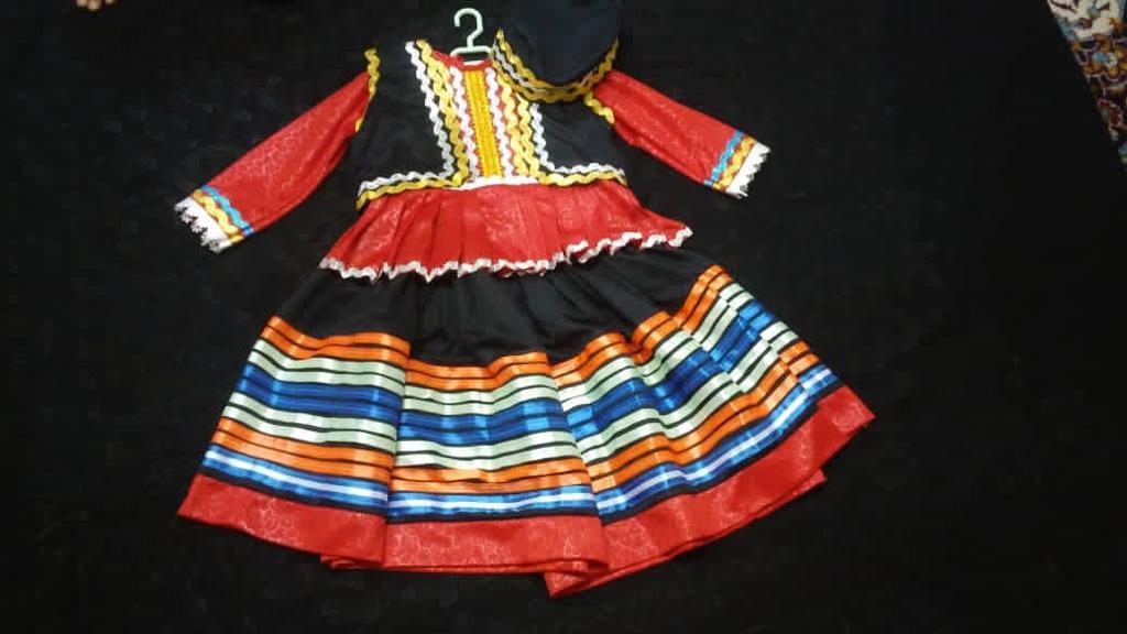 لباس محلی گیلان دخترانه