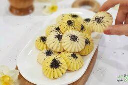 طرز تهیه شیرینی برنجی گیلان (2)-min